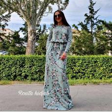 Платье из софта на лето